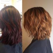 exciting medium length layered
