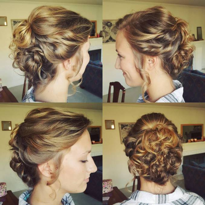 20 gorgeous prom hairstyle designs for short hair: prom