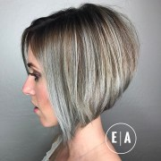 trendy short hair cuts women