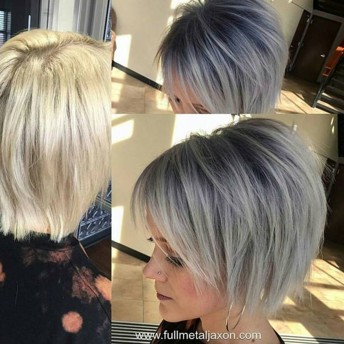 30 trendy short hairstyles for thick hair 2019