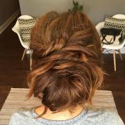 easy and pretty chignon buns hairstyles