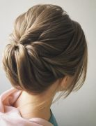 Easy and Pretty Chignon Buns Hairstyles - Quick Updo Hairstyles for Women