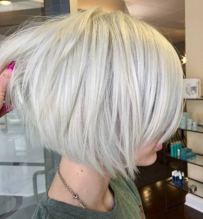 10 layered bob hairstyles - look fab in new blonde shades