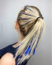 ponytail hairstyles - pretty
