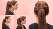 ponytail hairstyles - pretty