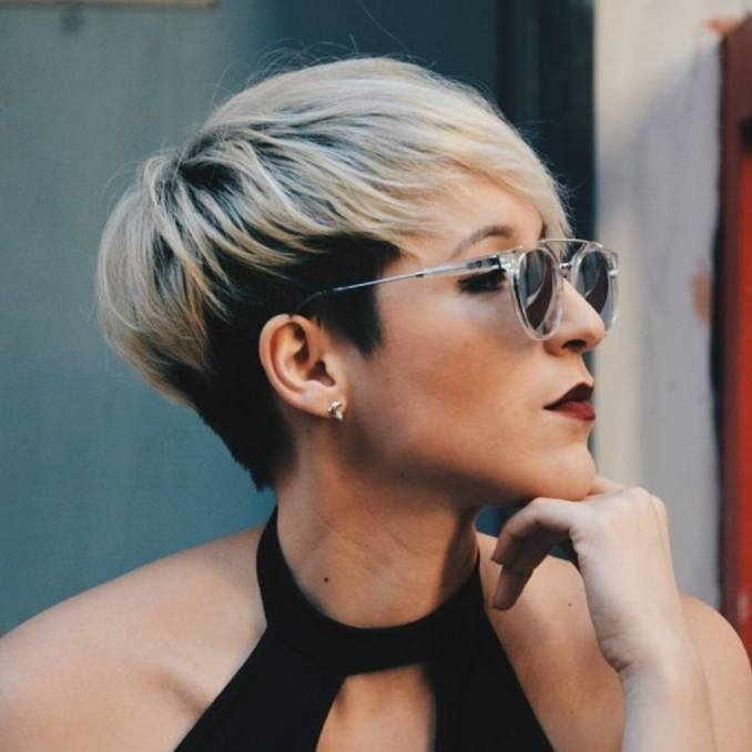 10 short hairstyles for women over 40 - pixie haircuts 2019