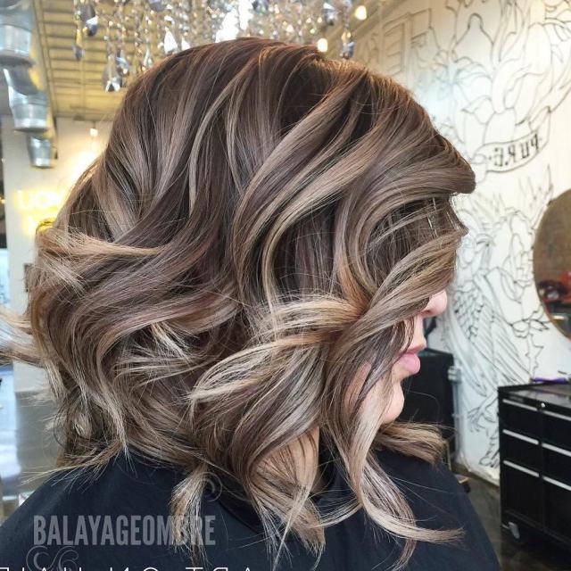 10 best medium layered hairstyles 2020 - brown & ash-blonde