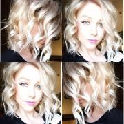 latest medium wavy hair styles