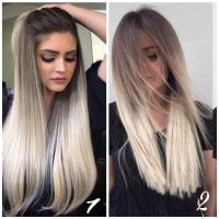 10 Best Long Hairstyles with Straight Hair  Beige & Ash