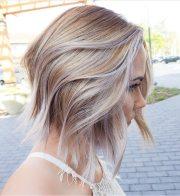 trendy layered short haircut