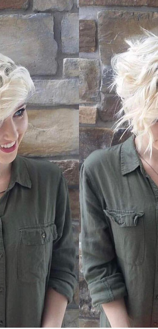 Best Layered Short Haircut - Women Short Hairstyle for Thick Hair