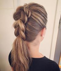 10 Braided Hairstyle Ideas for Balayage-Ombr Hair - Long ...