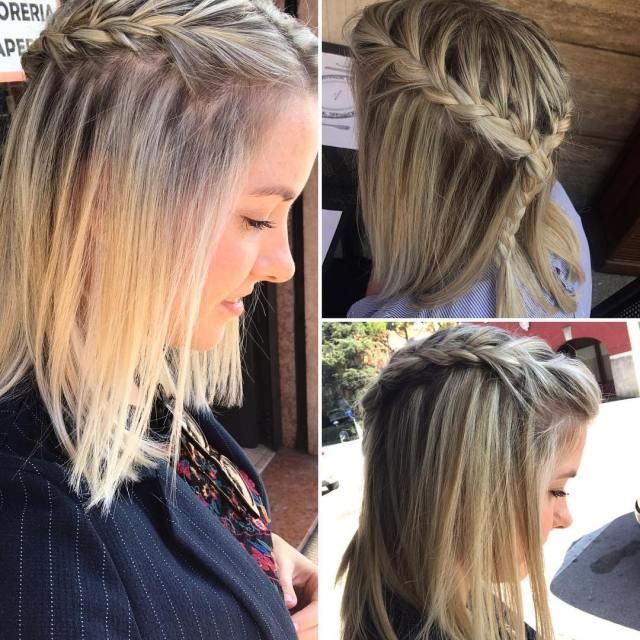 10 braided hairstyle ideas for balayage-ombré hair 2019