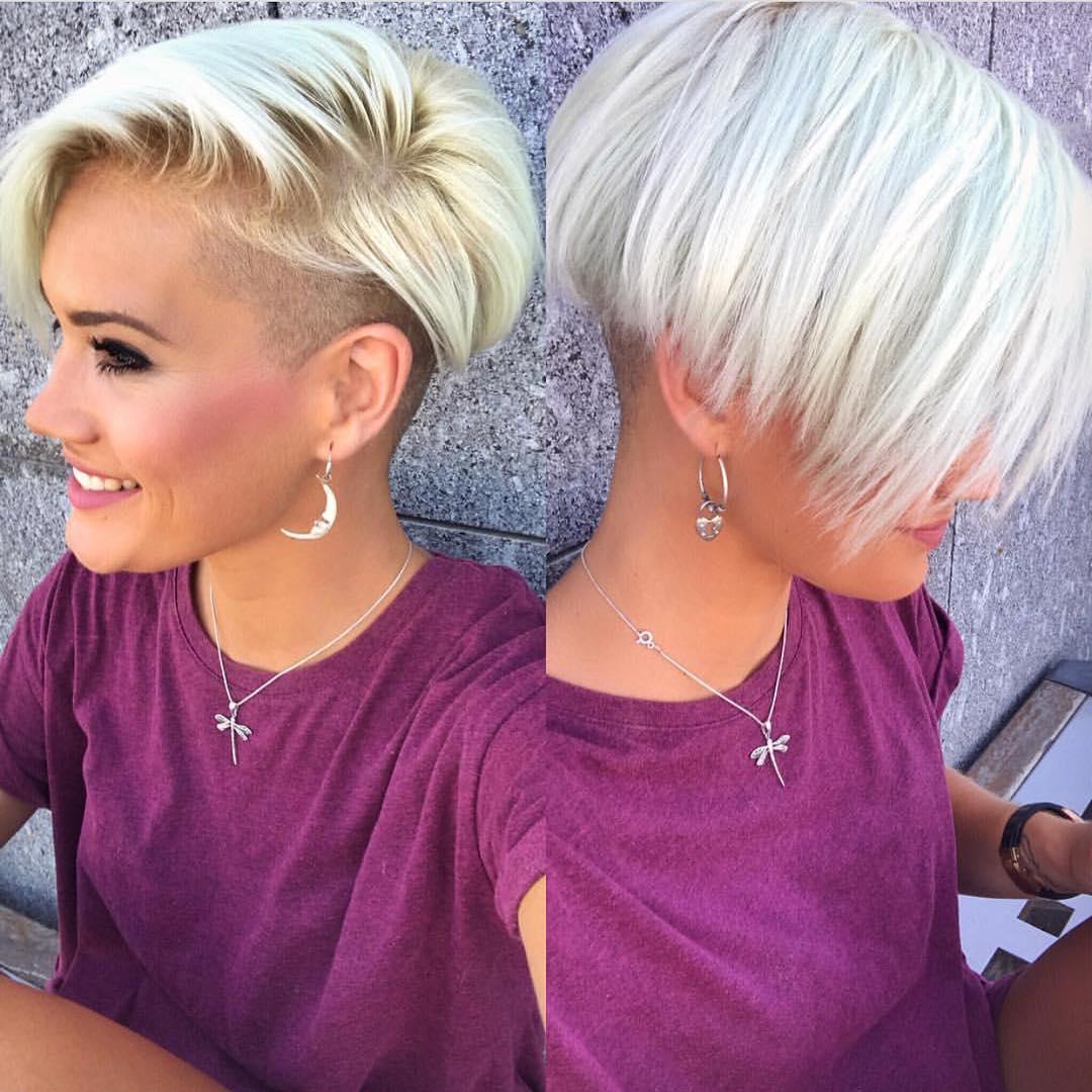 10 Shaved Haircuts For Short Hair Sassy Edgy Amp Chic