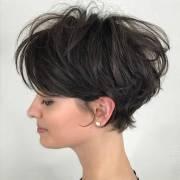 latest pixie haircut women