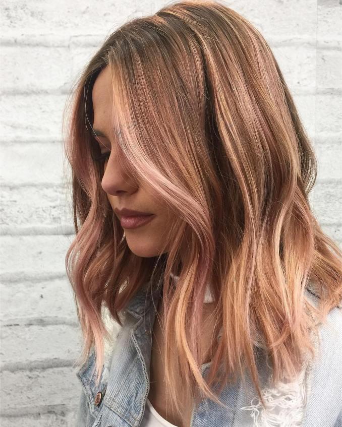 best wavy shoulder length hairstyles, medium haircut ideas