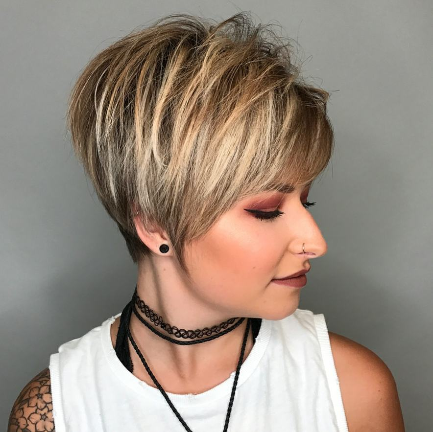 10 HiFashion Short Haircut for Thick Hair Ideas 2019  Women Short Hairstyles
