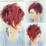 highly stylish short hairstyle