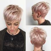 highly stylish short hairstyle