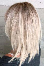 messy medium hairstyles