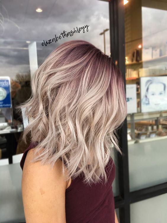 10 Trendy Medium Hairstyles  Top Color Designs 2019