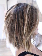 trendy medium hairstyles & top