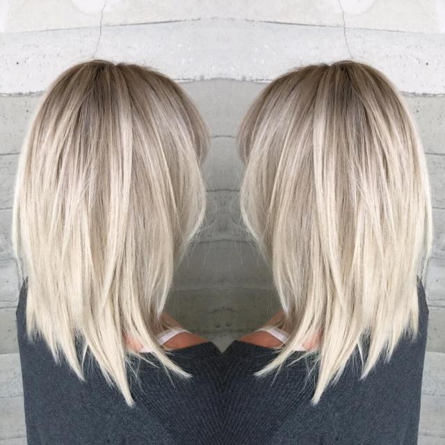 10 stylish & sweet lob haircut ideas, shoulder length
