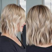 wavy haircuts medium length