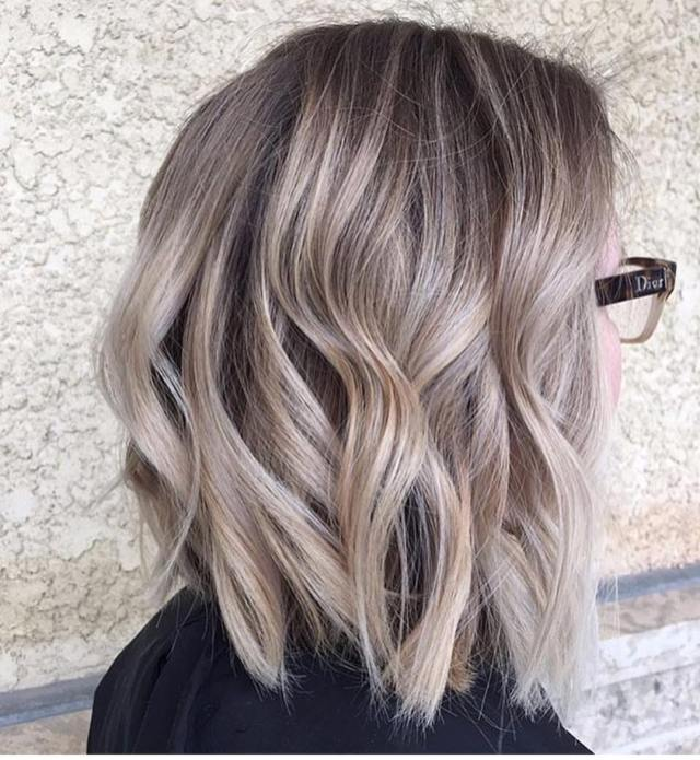 10 balayage ombre hair styles for shoulder length hair