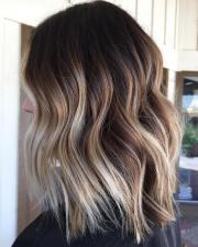 trendy brown balayage hairstyles