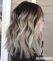 trendy brown balayage hairstyles