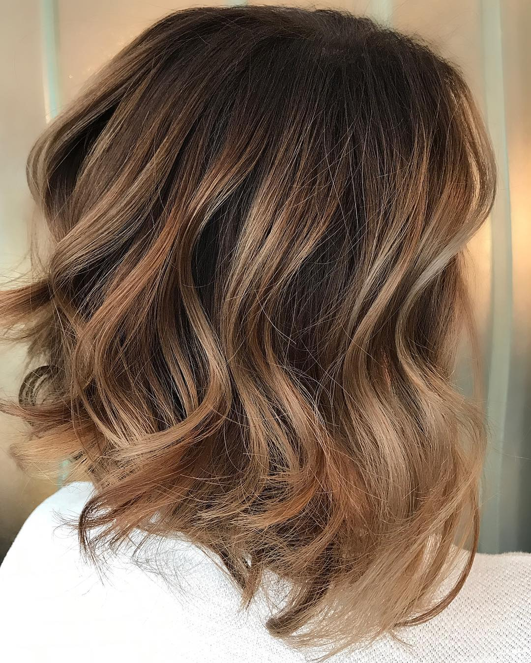 10 Trendy Brown Balayage Hairstyles for MediumLength Hair