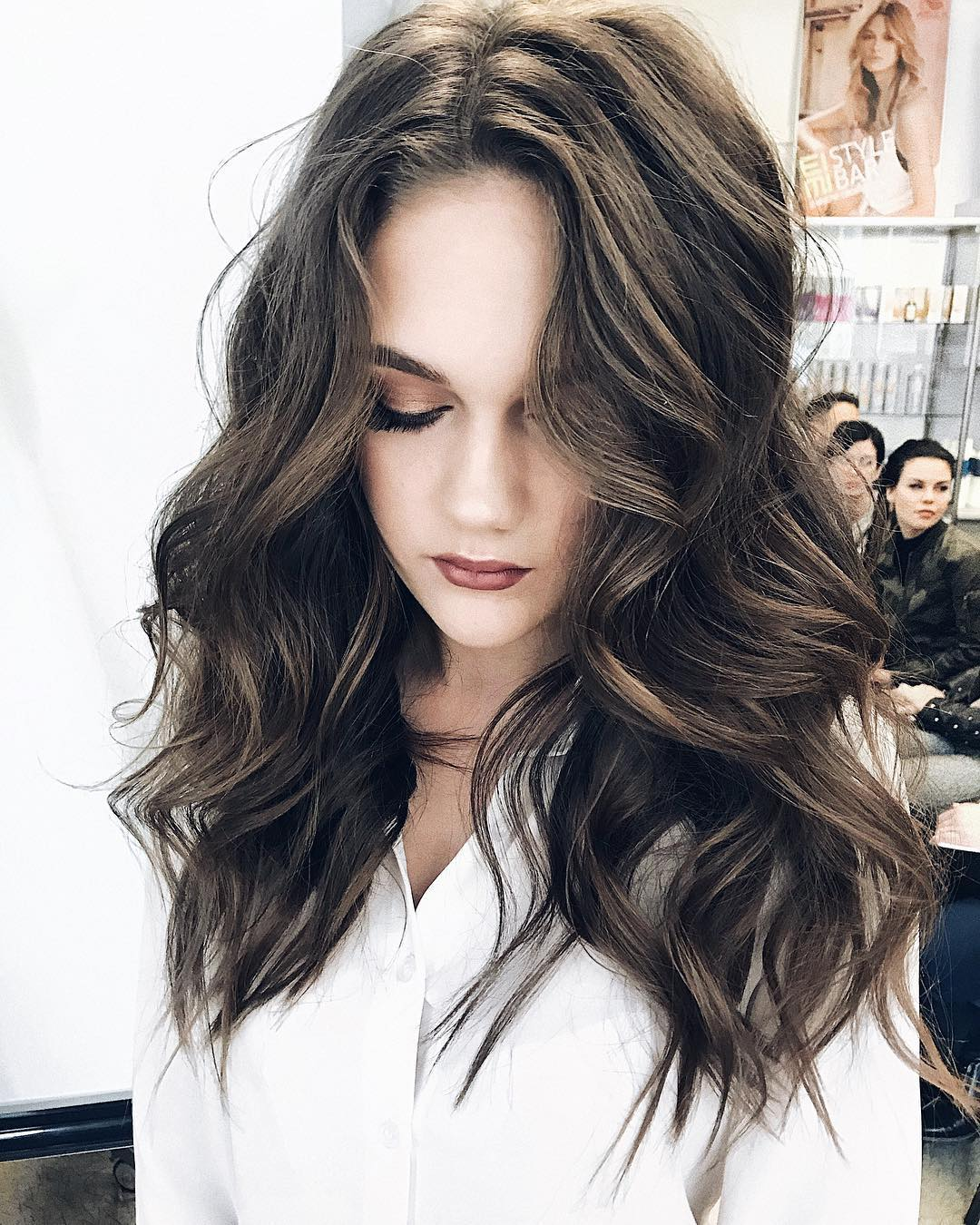 10 Gorgeous Long Wavy Perm Hairstyles Long Hair Styles 2019