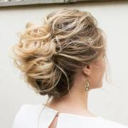gorgeous prom updos long