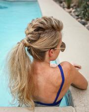 creative ponytail hairstyles