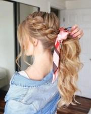 creative ponytail hairstyles