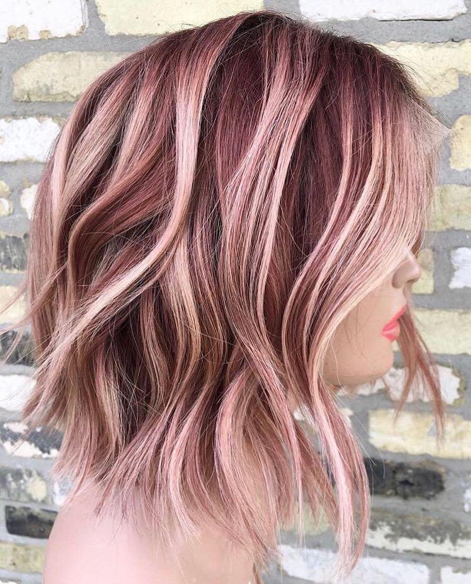 10 creative hair color