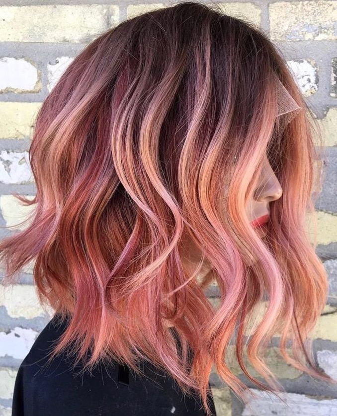 10 creative hair color ideas for medium length hair, medium