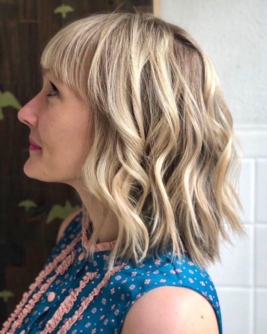 10 Trendy Choppy Lob Haircuts for Women Best Medium Hair