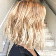 trendy choppy lob haircuts