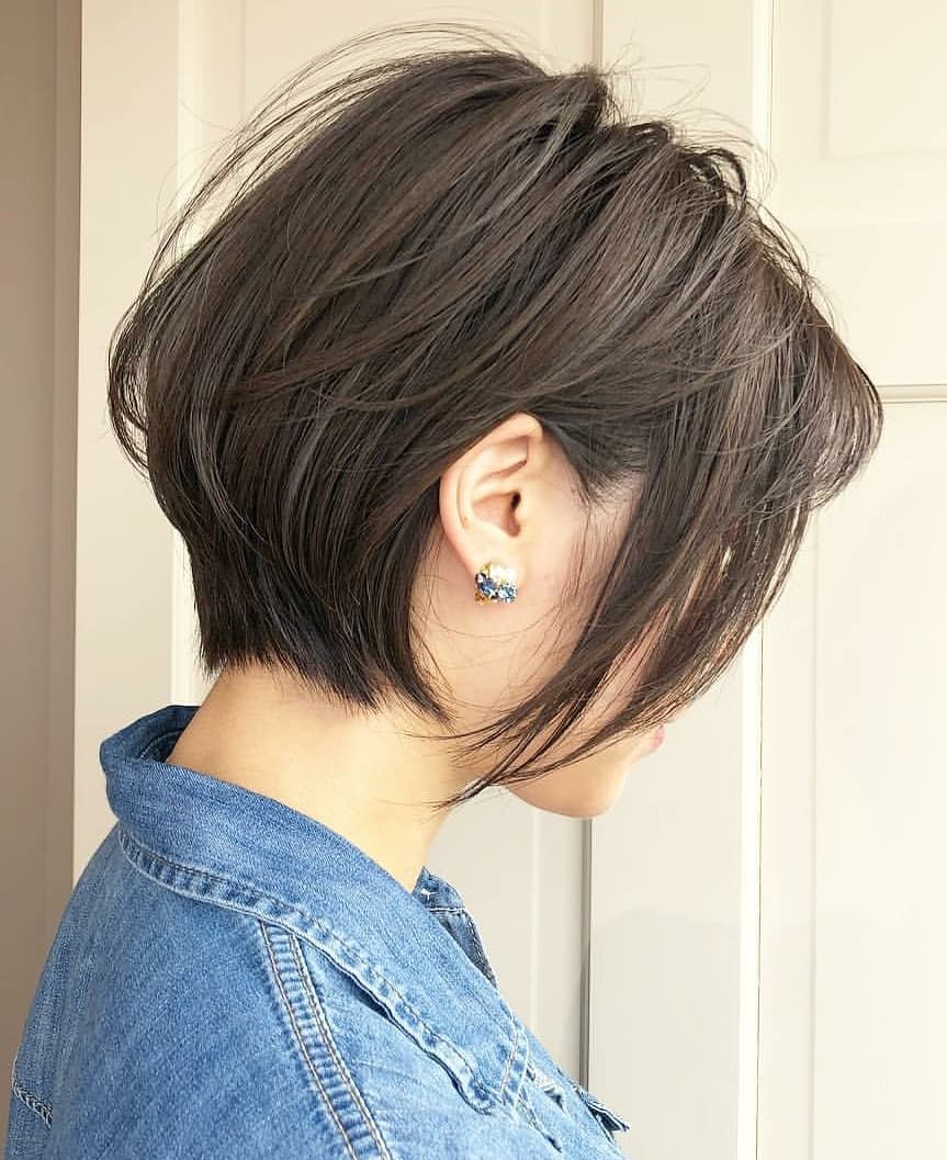 Ten Trendy Short Bob Haircuts for Female Best Short Hair Styles 2019