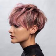 stylish short hairstyles thick