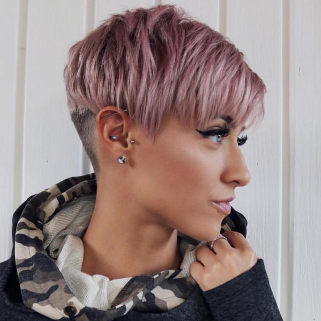 10 trendy very short haircuts for female, cool short hair