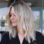medium long hair styles