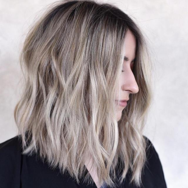 stylish shoulder length haircuts, women medium hairstyles
