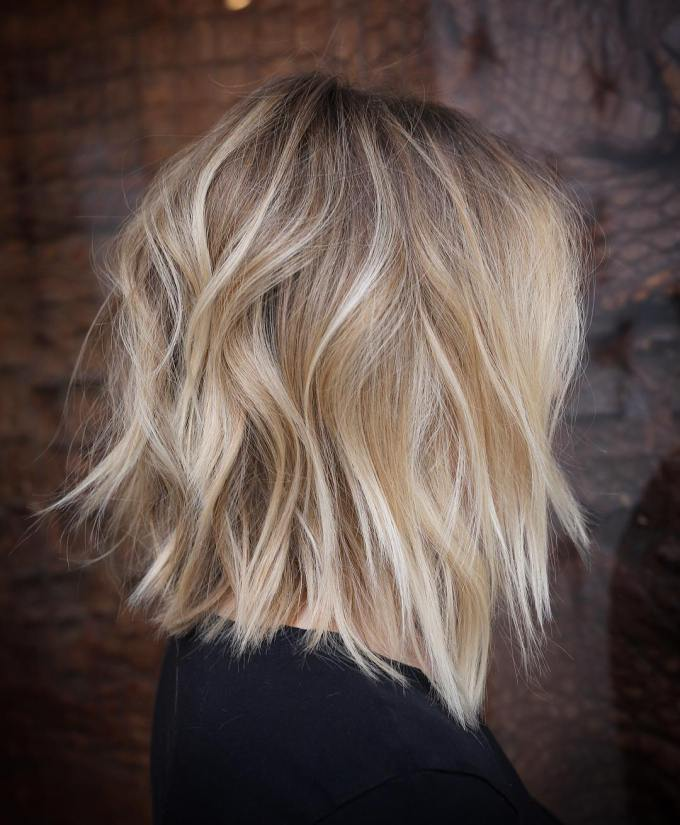 10 stylish lob hairstyle ideas, best shoulder length hair