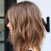 flirty light brown hair