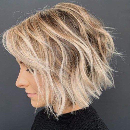 Short Bob Hair Color Ideas - Easy Short Bob Haircuts for Women