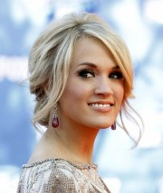 carrie underwood updo hairstyles
