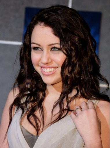 Miley Cyrus Curly Hairstyles 2012